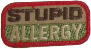 STUPID ALLERGY Patch - MULTICAM OCP