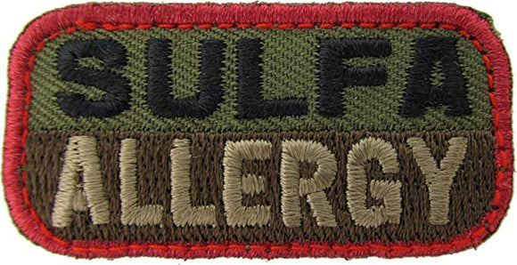 SULFA ALLERGY Patch - WOODLAND