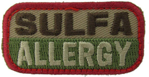 SULFA ALLERGY Patch - MULTICAM OCP
