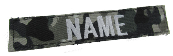 Swiss Urban Name Tape with Hook Fastener