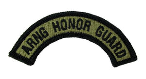 Army National Guard Honor Guard OCP Patch Tab - Scorpion W2