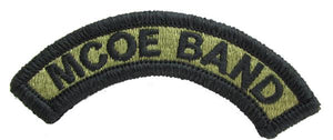 Maneuver Center of Excellence MCOE Band Tab OCP Patch - Scorpion W2