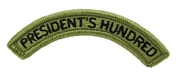 President's Hundred OCP Patch Tab - Scorpion W2
