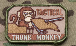 Tactical Trunk Monkey Morale Patch - Mil-Spec Monkey