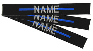 Thin Blue Line Name Tapes Sewon - 3 Pack