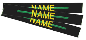Thin Green Line Name Tapes Sewon - 3 Pack