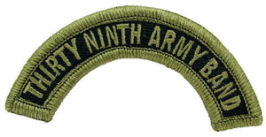 39th Thirty Ninth Army Band Tab OCP Patch - Scorpion W2