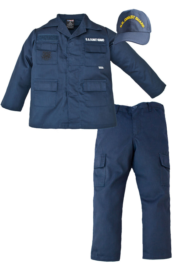 Kids U.S. Coast Guard Uniform - 3 Piece Set