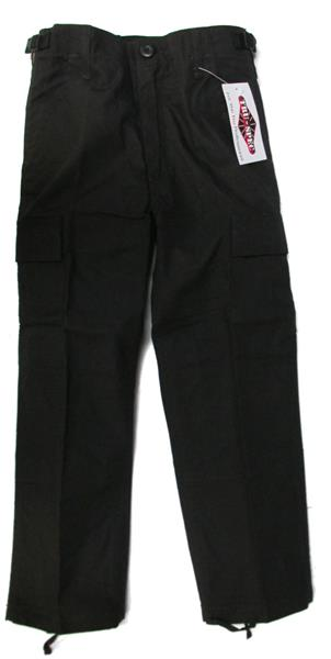 Kids Tru-Spec BDU Pants - BLACK