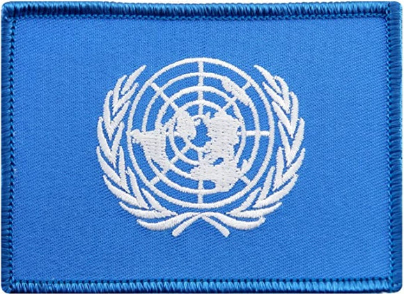 United Nations Flag Embroidered Patch