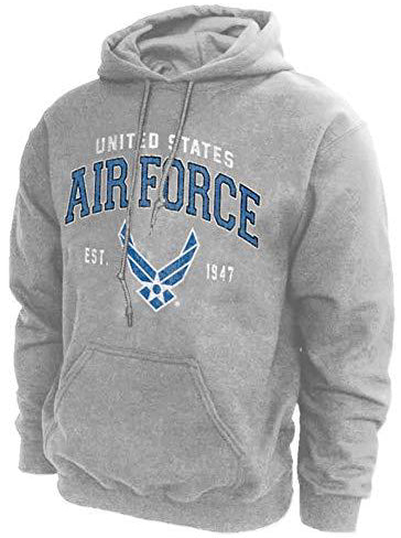 U.S. Air Force Vintage Logo Grey Hoodie