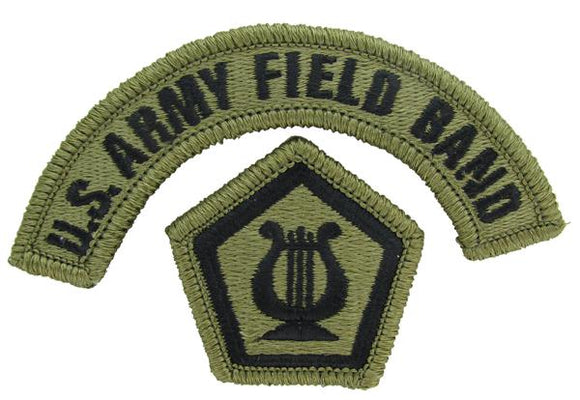 U.S. Army Field Band OCP Patch with Tab - Scorpion W2