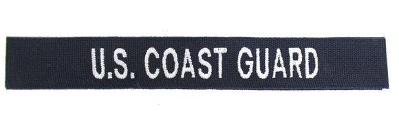 Branch Tape - U.S. Coast Guard Cotton Webbing SEW ON
