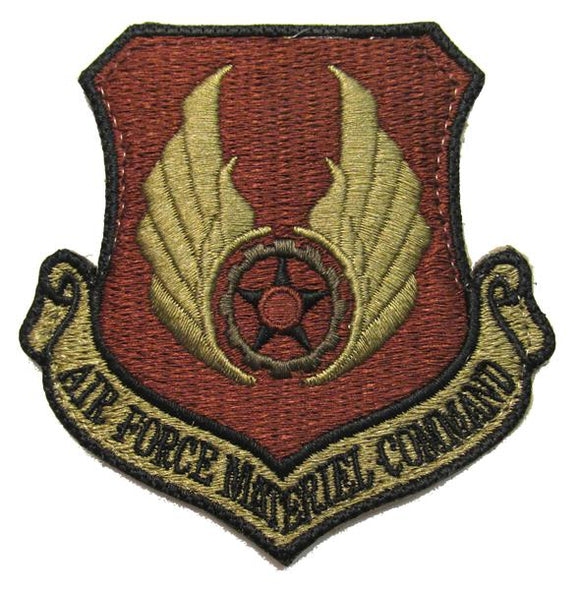 Air Force Materiel Command OCP Patch - Spice Brown