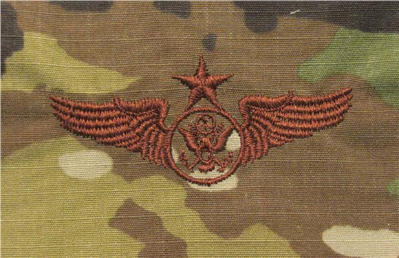 Aircrew Member OCP Air Force Badge - SPICE BROWN