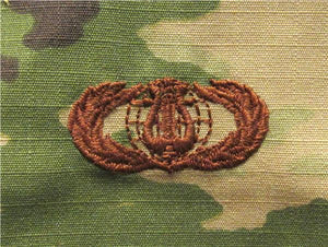 Band OCP Air Force Badge - SPICE BROWN