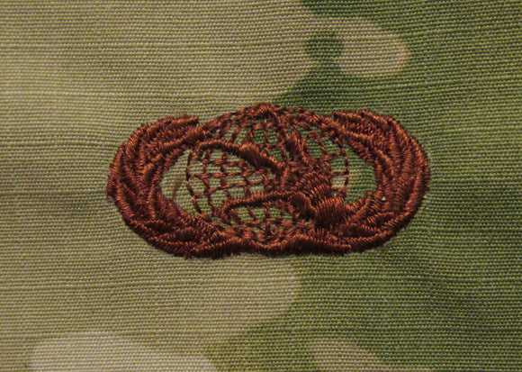 Communications OCP Air Force Badge - SPICE BROWN