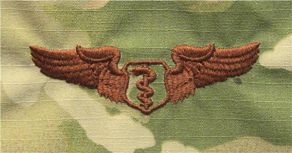 Flight Surgeon OCP Air Force Badge - SPICE BROWN