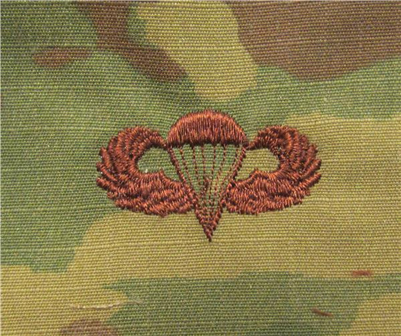 Parachutist OCP Air Force Badge - SPICE BROWN