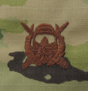 Special Ops Diver Supervisor OCP Air Force Badge - SPICE BROWN