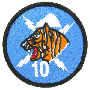 USAF Academy 10th Cadet Squadron Patch - Tiger Ten