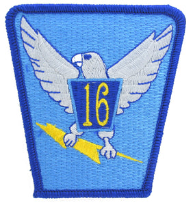 USAF Academy 16th Cadet Squadron Patch - Proud Chicken Hawks