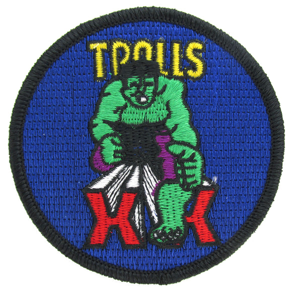 USAF Academy 20th Cadet Squadron Patch - Tough Twenty Trolls