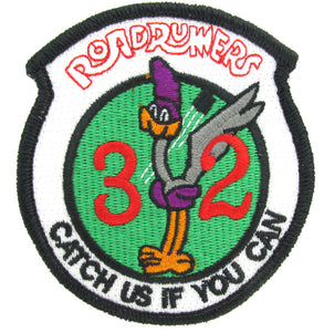 USAF Academy 32nd Cadet Squadron Patch - Roadrunners