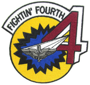 USAF Academy 4th Cadet Squadron Patch - Fightin' Fourth