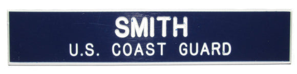 U.S. Coast Guard Name Plate