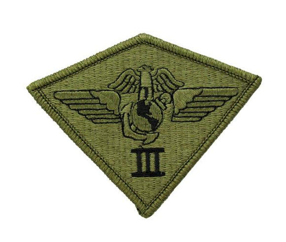 USMC 3rd Marine Aircraft Wing MAW OCP Patch - Scorpion W2