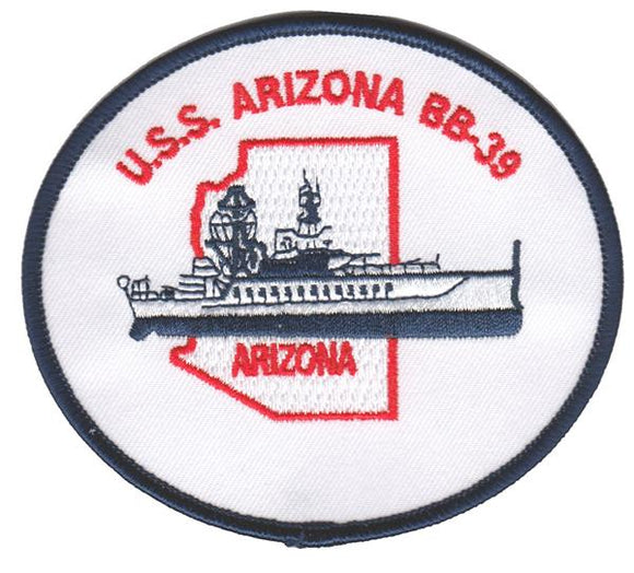USS Arizona BB-39 USMC Patch