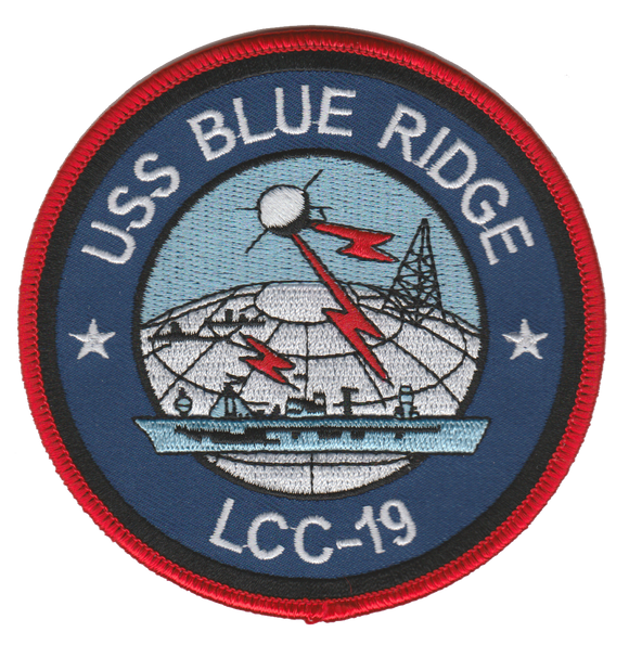 U.S.S. BLUE RIDGE LCC-19 Patch