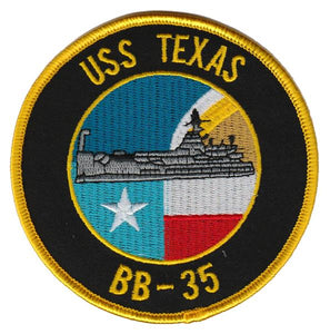 USS Texas BB-35 USMC Patch