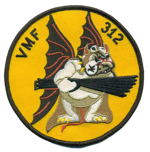 Reproduction VMF-312 Checkerboards WWII USMC Patch