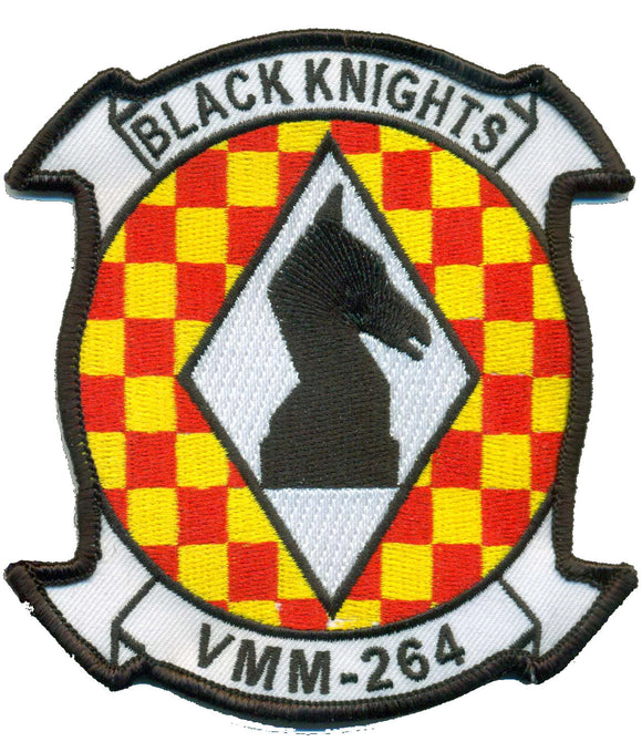 VMM-264 USMC Patch - Black Knights