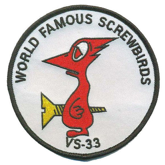VS-33 USMC Patch - World Famous Screwbirds