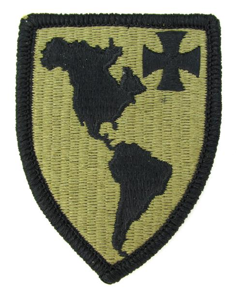 Western Hemisphere Institute for Security OCP Patch - Scorpion W2