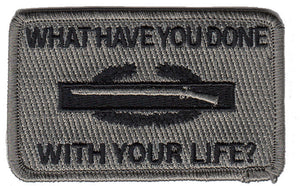 CIB What Have You Done With Your Life Morale Patch - Various Colors