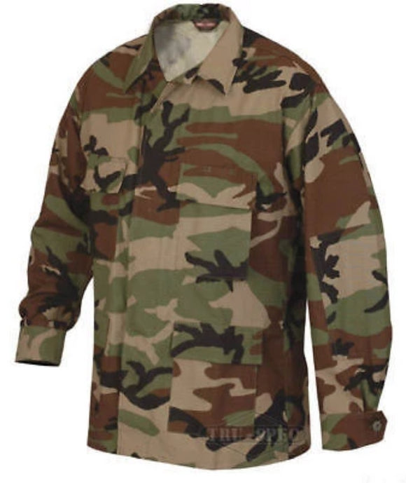 Military Uniform Supply BDU Jacket - WOODLAND CAMO