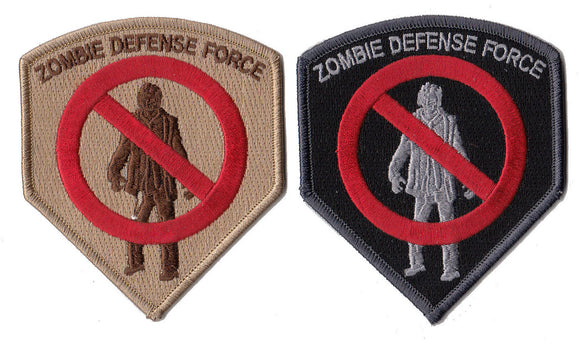 Zombie Defense Force Morale Patch - Various Colors