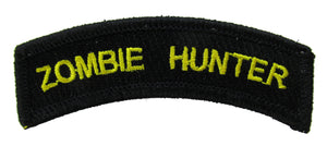 Zombie Hunter Tab Morale Patch - Various Colors