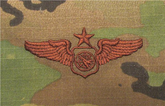 Air Battle Manager OCP Air Force Badge - SPICE BROWN