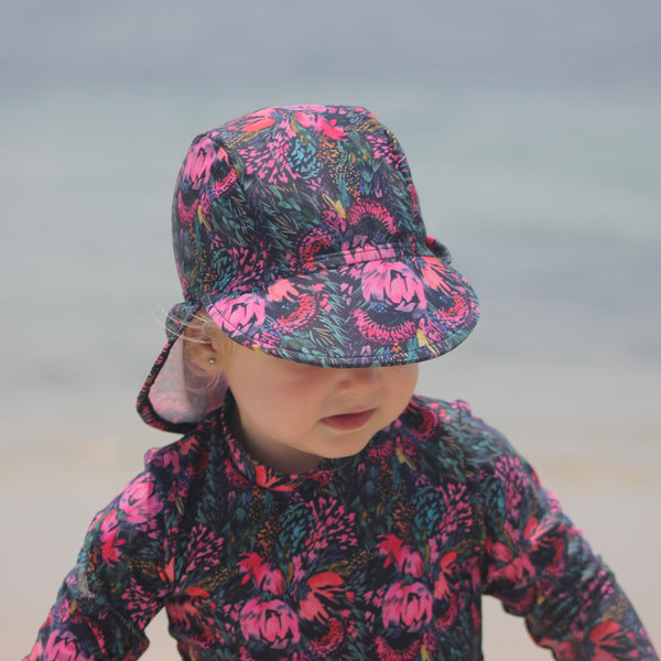 Pretty Posy Swim Flap Hat