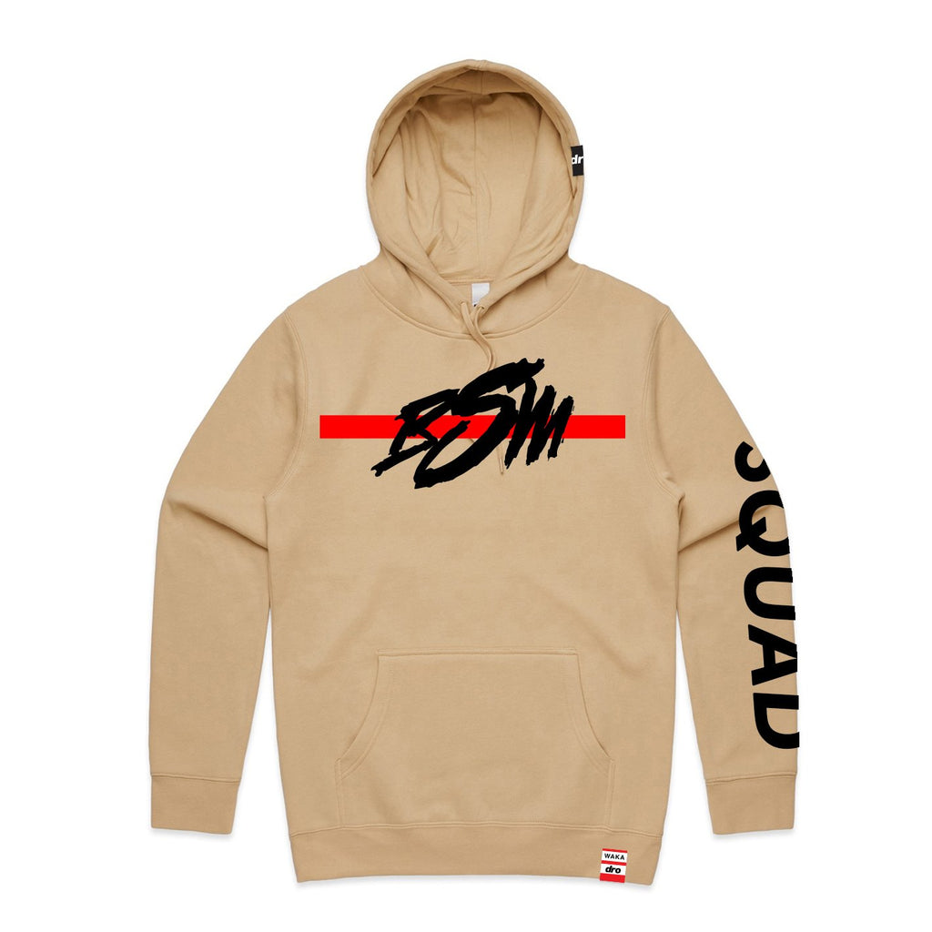 X Waka Flocka - BSM Staple Tan Pullover