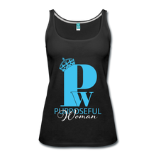 Load image into Gallery viewer, Purposeful Woman Tank Top - black