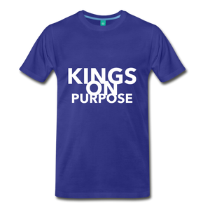Kings On Purpose Men's Premium T-Shirt - royal blue