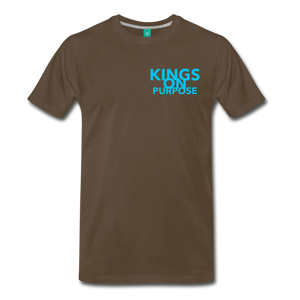 Kings On Purpose Men's Shirt - noble brown