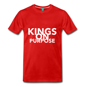Kings On Purpose Men's Premium T-Shirt - red
