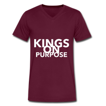 Load image into Gallery viewer, Kings On Purpose Men's V-Neck - maroon